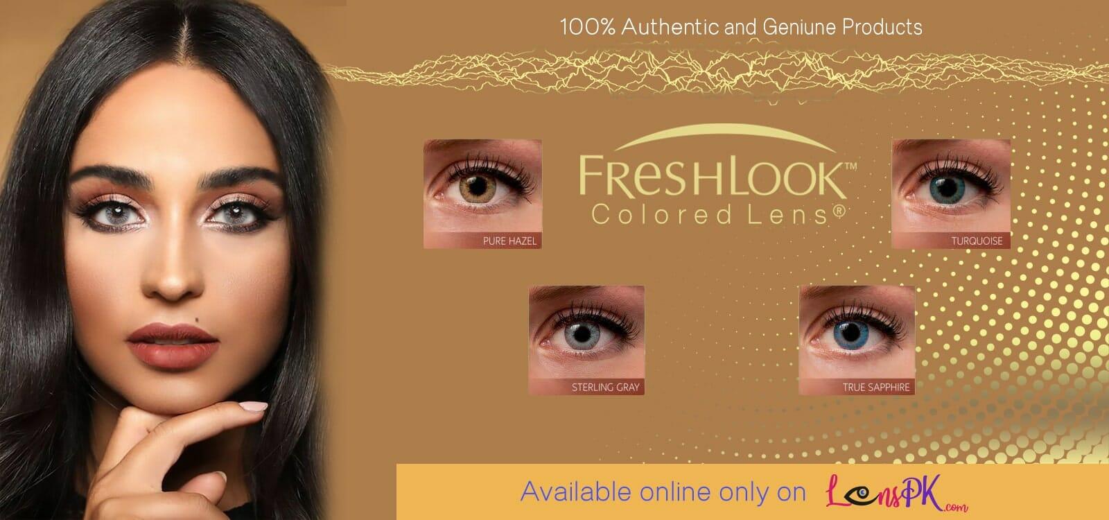 Buy Freshlook Colors Contact Lenses Online - lenspk.com