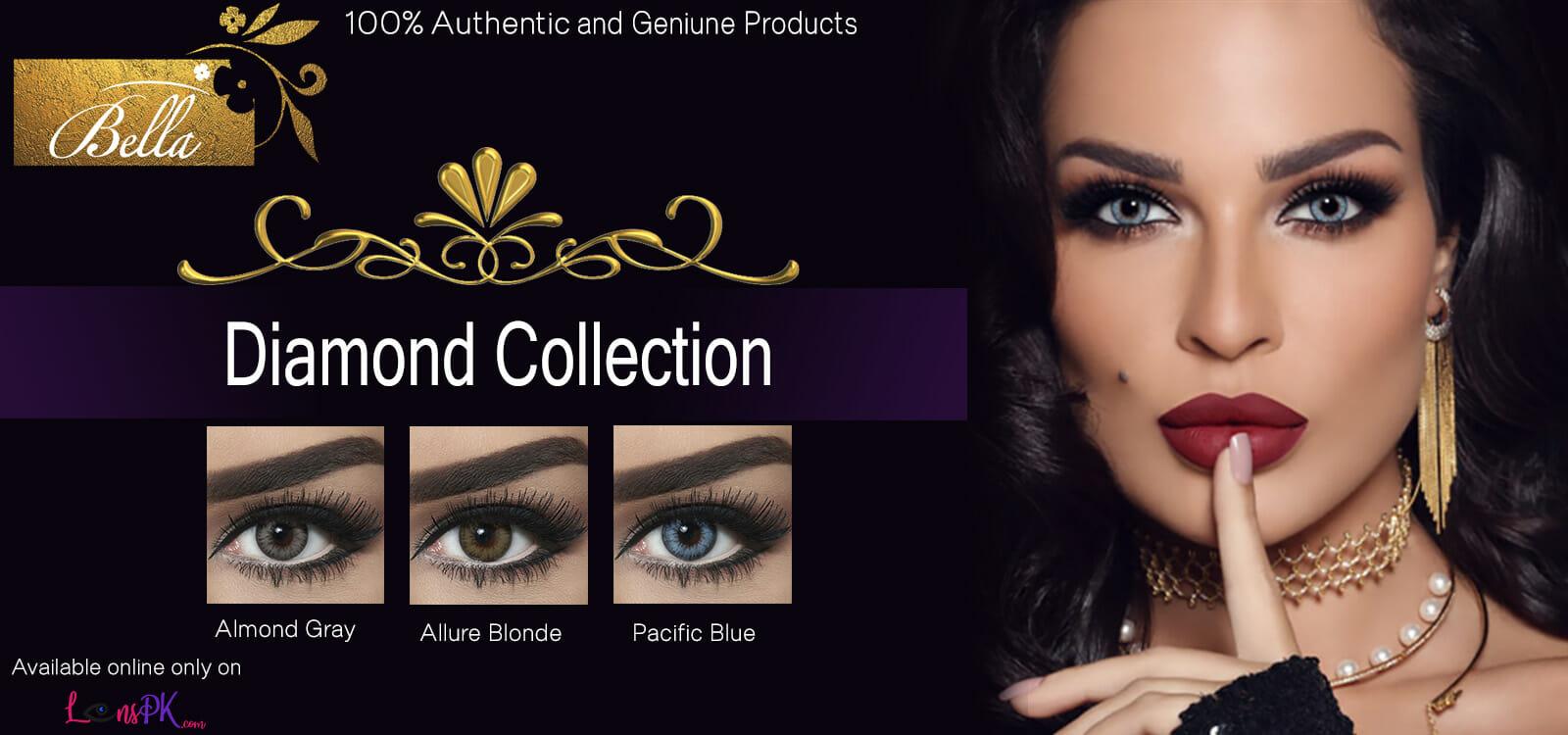Buy Bella Contact Lenses - Diamond Collection - lenspk.com