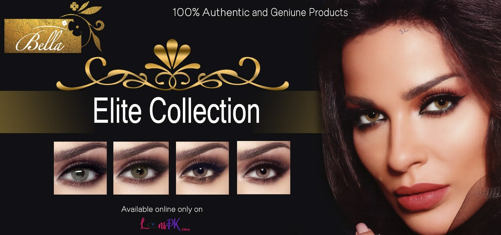 Buy Bella Contact Lenses - Elite Collection - lenspk.com
