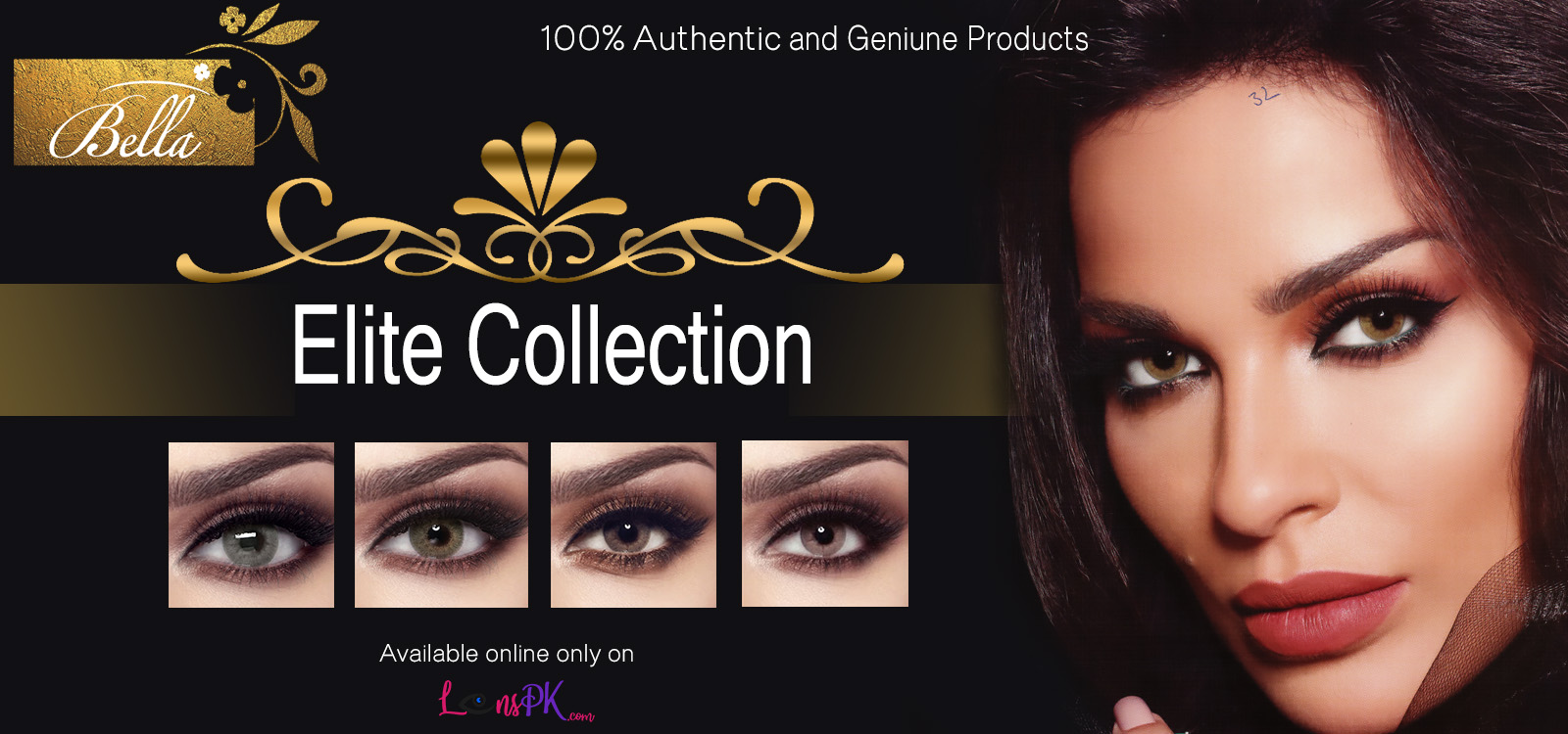Buy Bella Contact Lenses - Elite Collection - lenspk.com