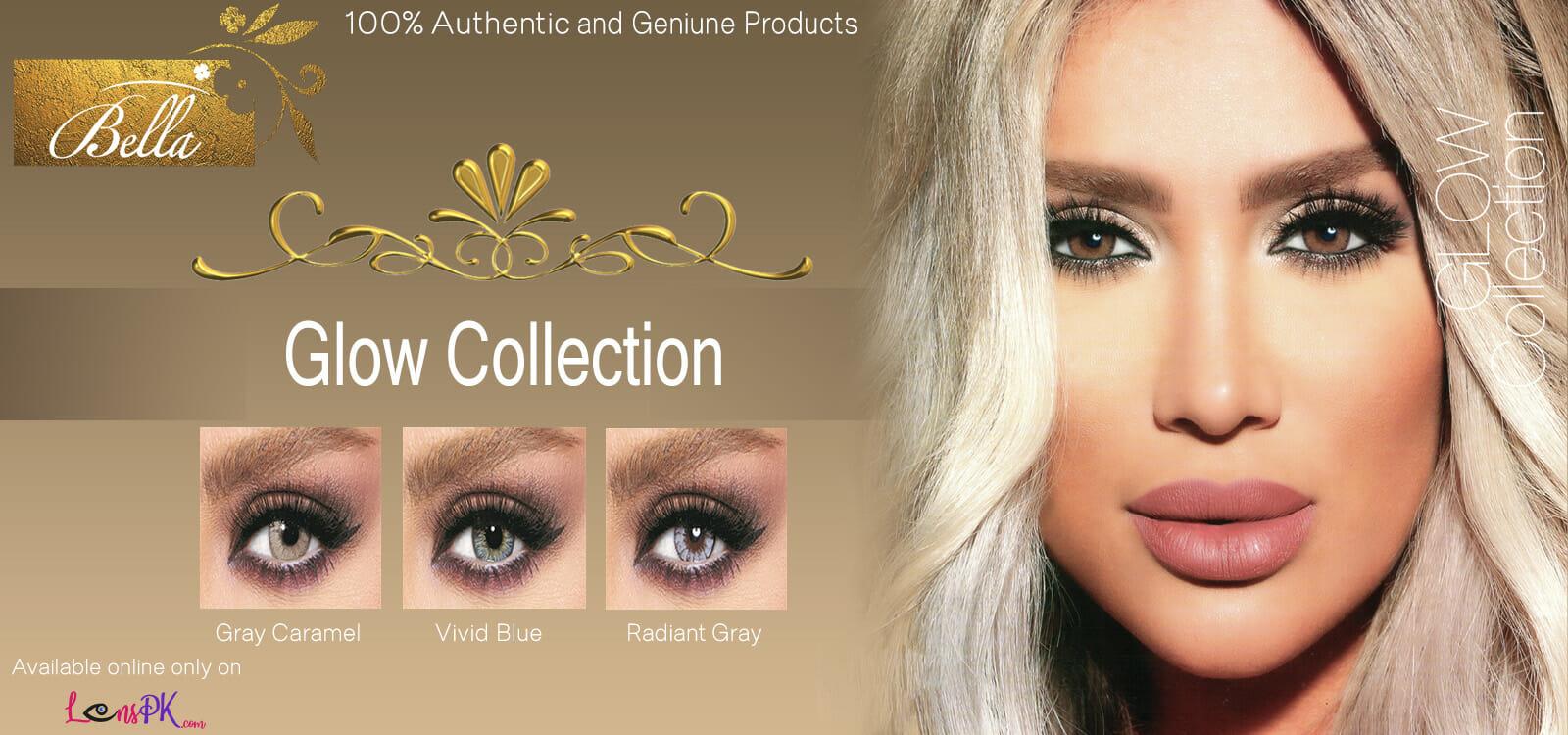 Buy Bella Glow Contact Lenses Online - lenspk.com