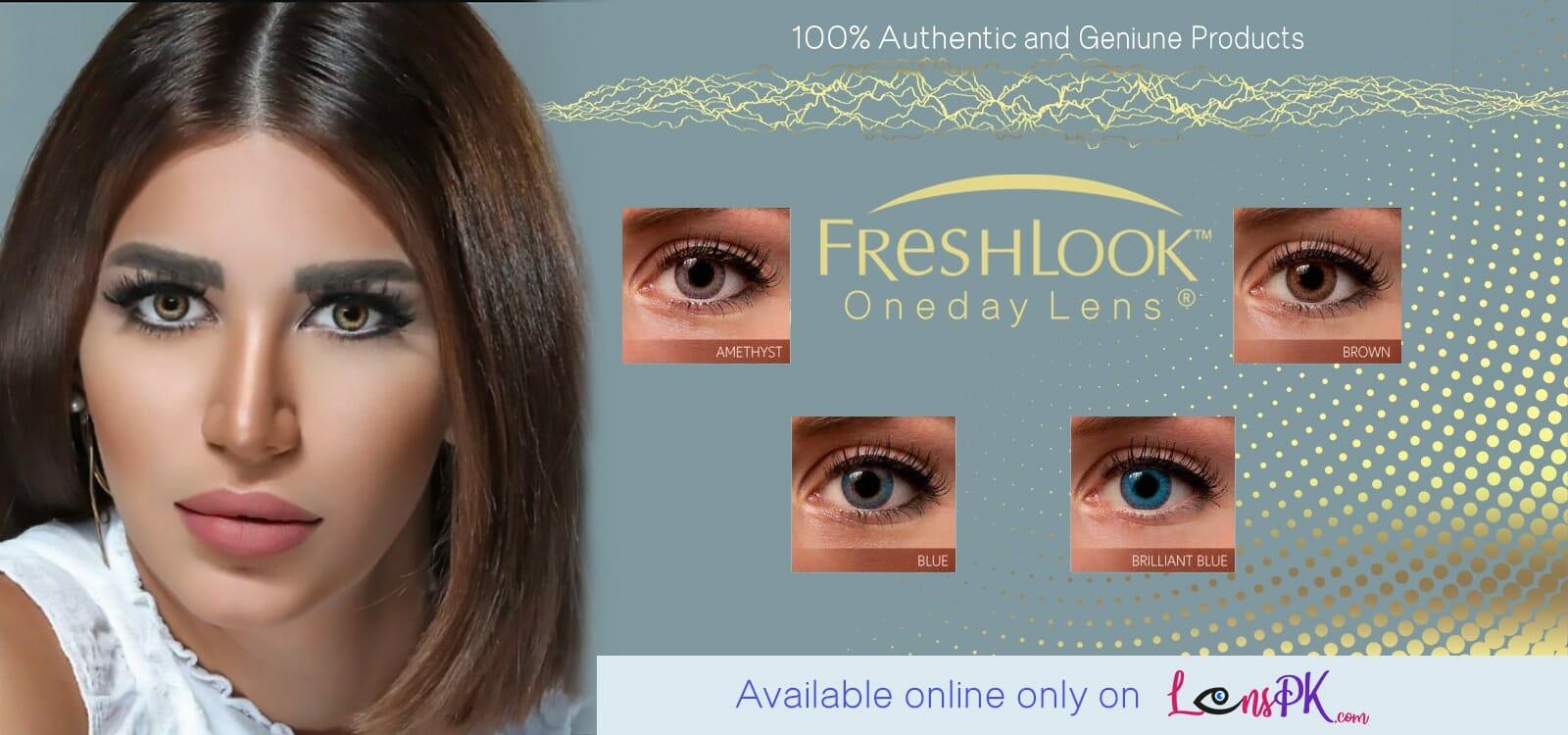 Buy Freshlook One Day Contact Lenses Online - lenspk.com