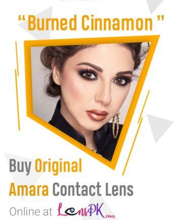 Burned Cinnamon amara lenses
