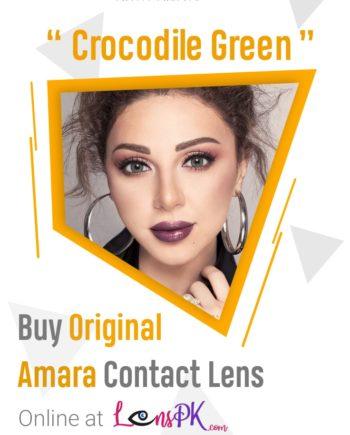 Crocodile Green amara lens-min