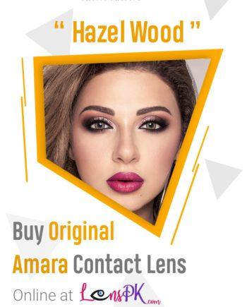 Hazel Wood Amara eye lenses