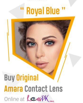 Royal Blue amara eye lenses