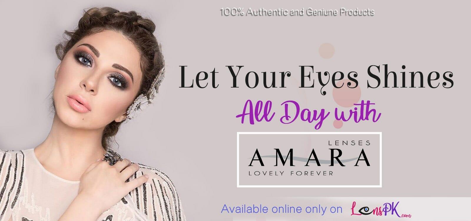 Ammara eye lenses