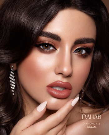 Buy Dahab Diamond Contact Lenses - Gold Collection - lenspk.com