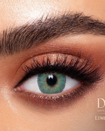 Buy Dahab Lumirere Green Contact Lenses - Gold Collection - lenspk.com