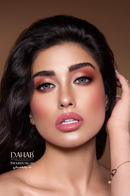Buy Dahab One Day Contact Lenses Swarovski in Pakistan @ lenspk.com